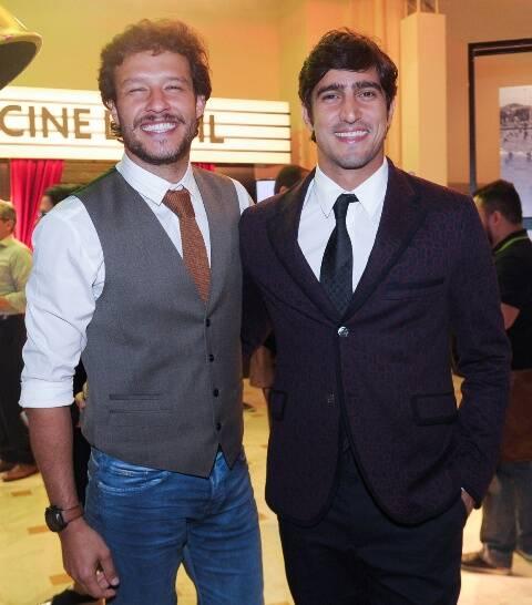 Hugo Cabral e Renato Góes