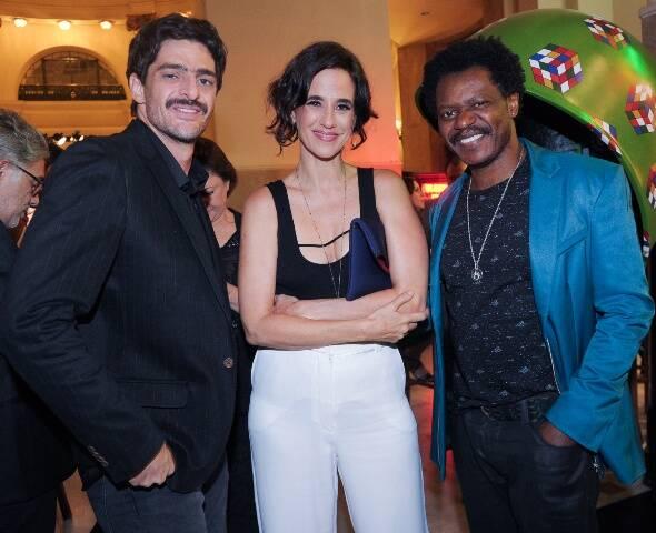 Bukassa Kabengele, Mariana Lima e Hugo Machado