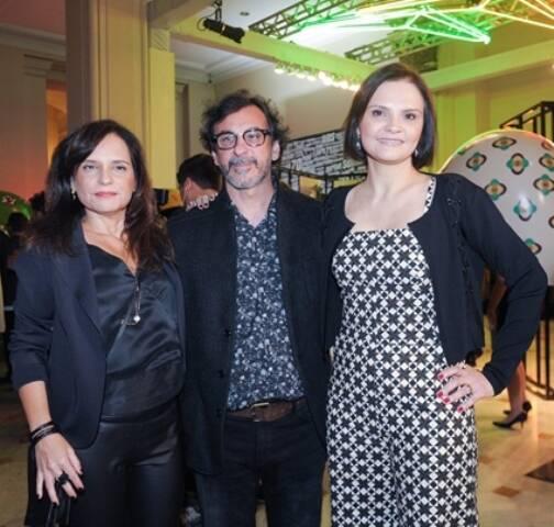 Angela Chaves, Carlos Araújo e Alessandra Poggi
