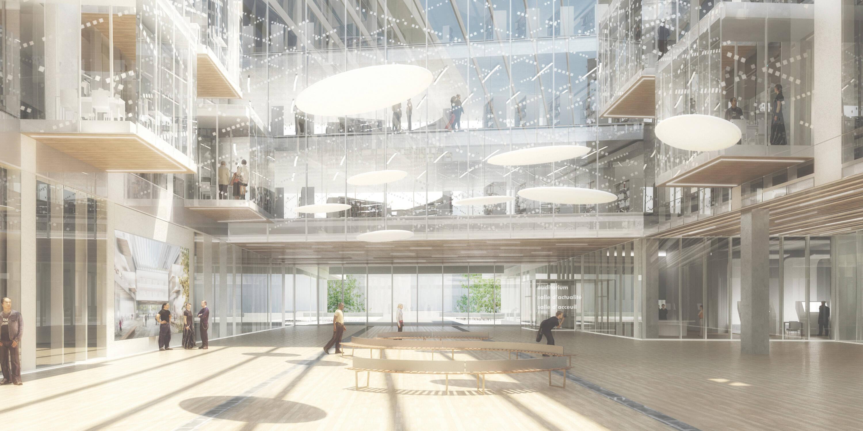 O projeto da Grande Biblioteca do Campus Condorcet, em Aubervilliers, Grande Paris  /Foto: Arquivo pessoal