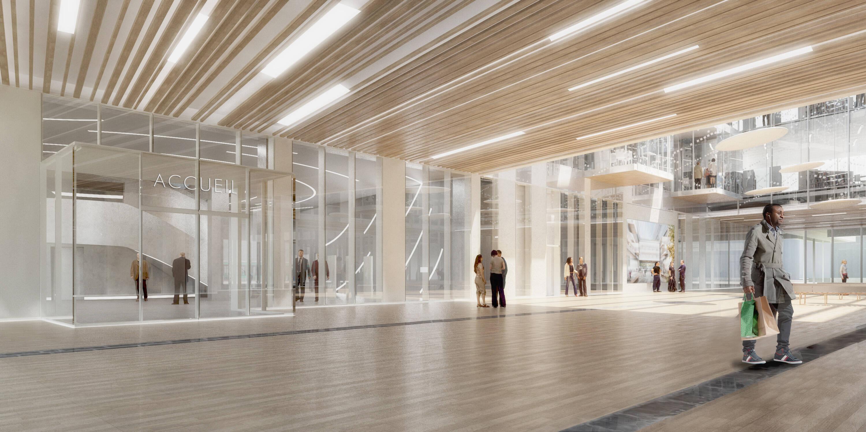 Grande Biblioteca do Campus Condorcet, em Aubervilliers, Grande Paris  /Foto: Arquivo pessoal
