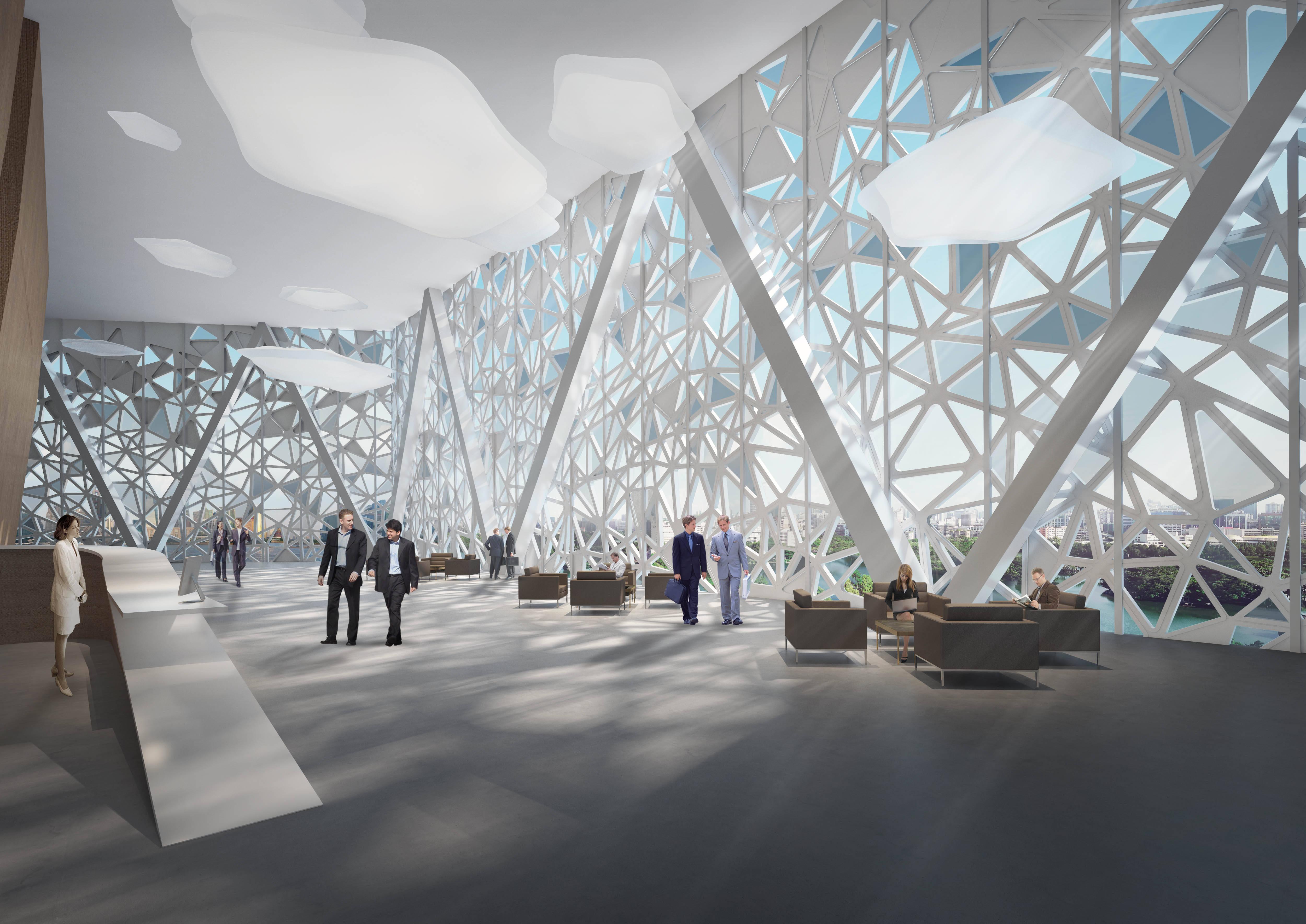 O espaço interno da Cidade da Ciência /Foto: Arquivo pessoal
