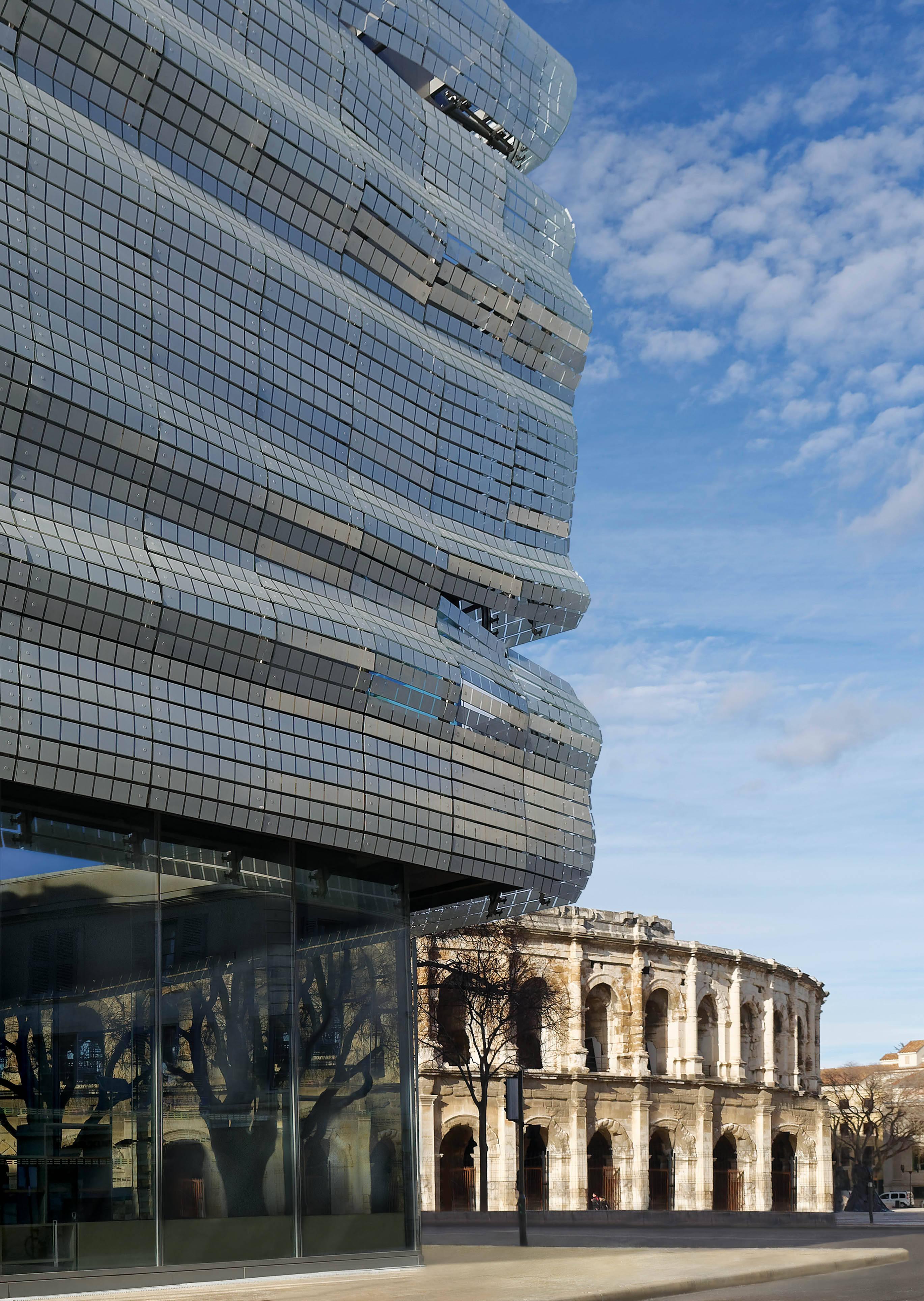 A visão do moderno e do histórico do museu /Foto: Pacco Ruffi