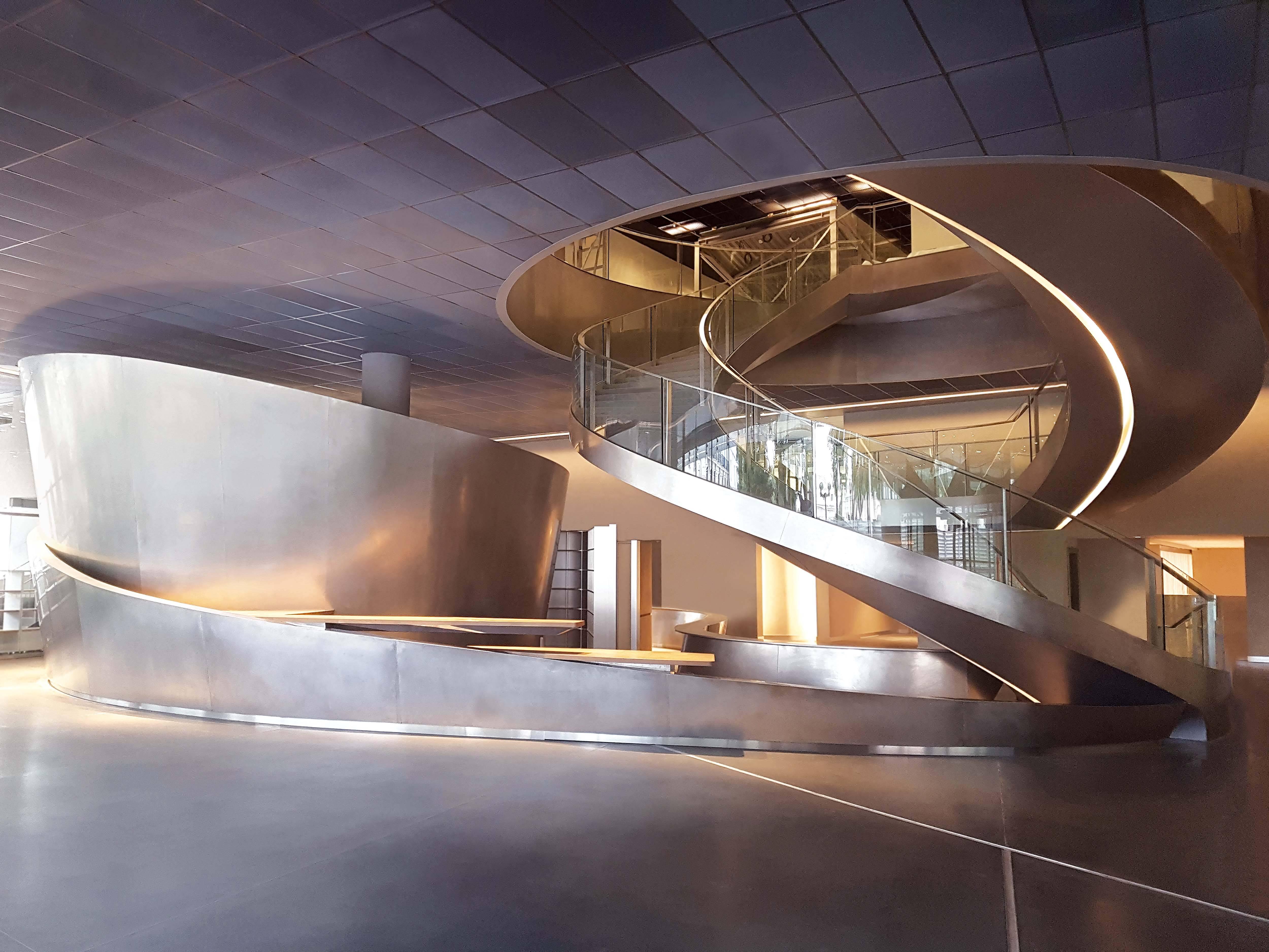 Parte do interior do Musée de La Romanité Romanite /Foto: Serge Urvoy