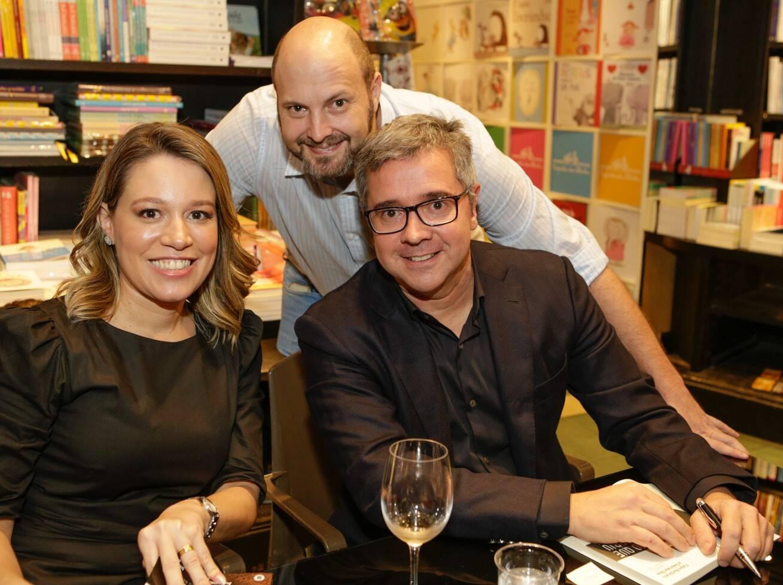 Gabriela Dias, Gabriel Bronstein e Fabio Barbirato  /Foto: Gianne Carvalho