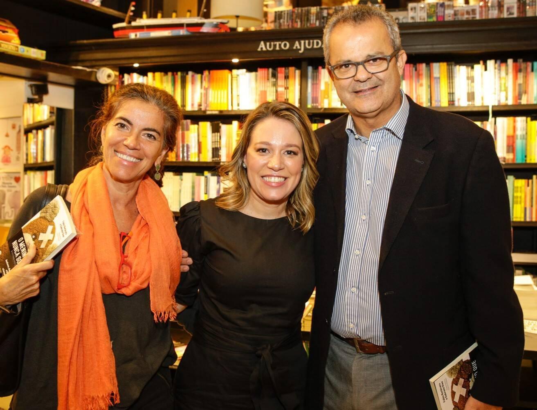 Keila Silva, Gabriela Dias e Afrânio Coelho  /Foto: Gianne Carvalho