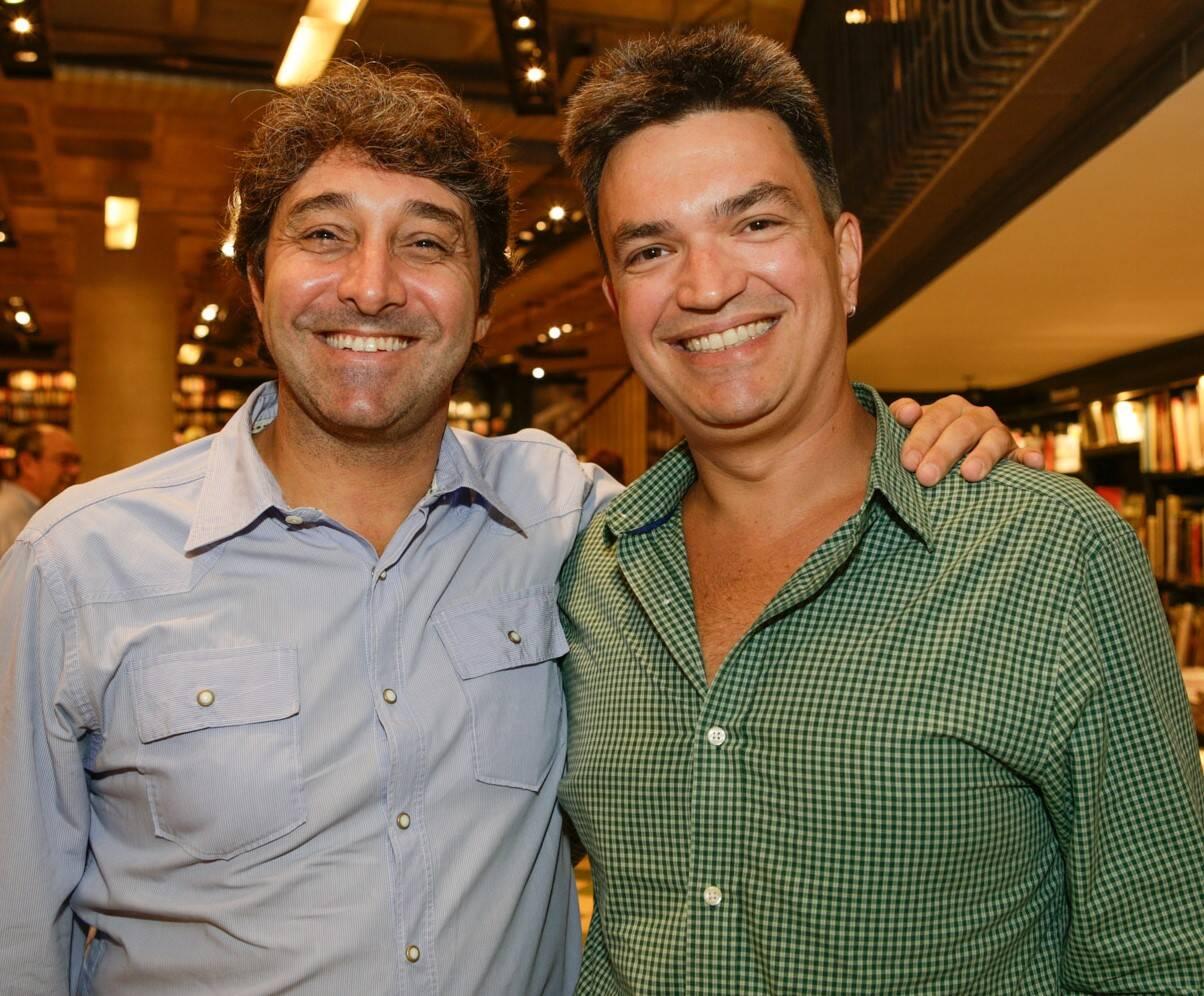 Luiz André Alzer e Manuel Valle  /Foto: Gianne Carvalho
