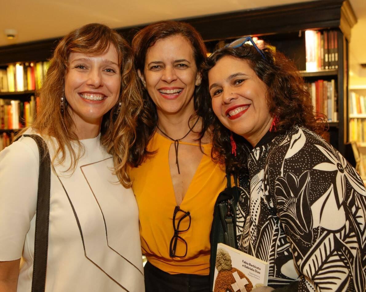 Melina Dalboni, Isabela Abdala e Alice Granato  /Foto: Gianne Carvalho