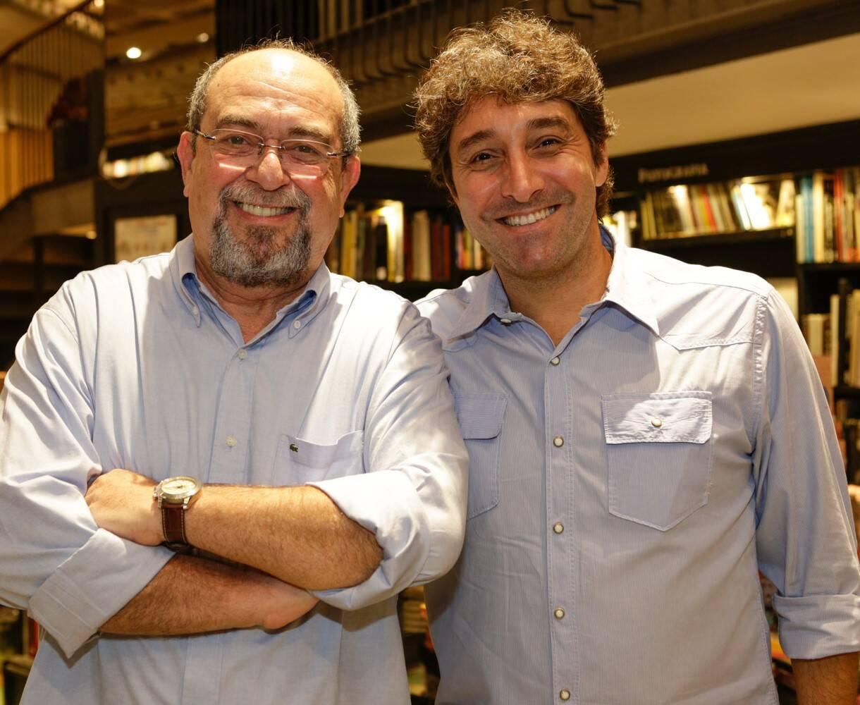 Os editores BRuno Thys e Luiz Alzes  /Foto: Gianne Carvalho