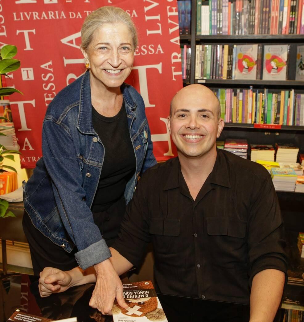 Patricia Lins e Silva e Gustavo Pinheiro  /Foto: Gianne Carvalho