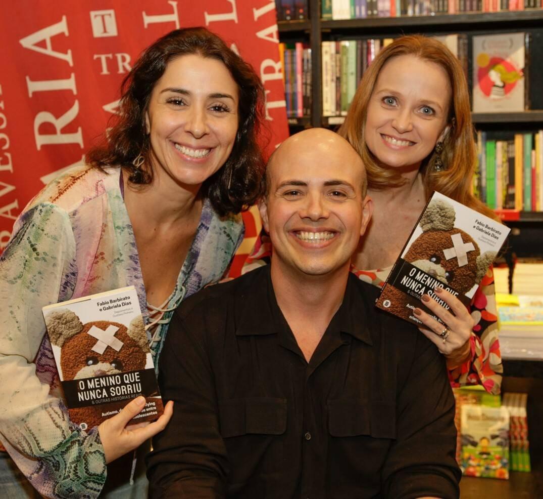 Athenea Bastos, Gustavo Pinheiro e Vania Ferreira  /Foto: Gianne Carvalho