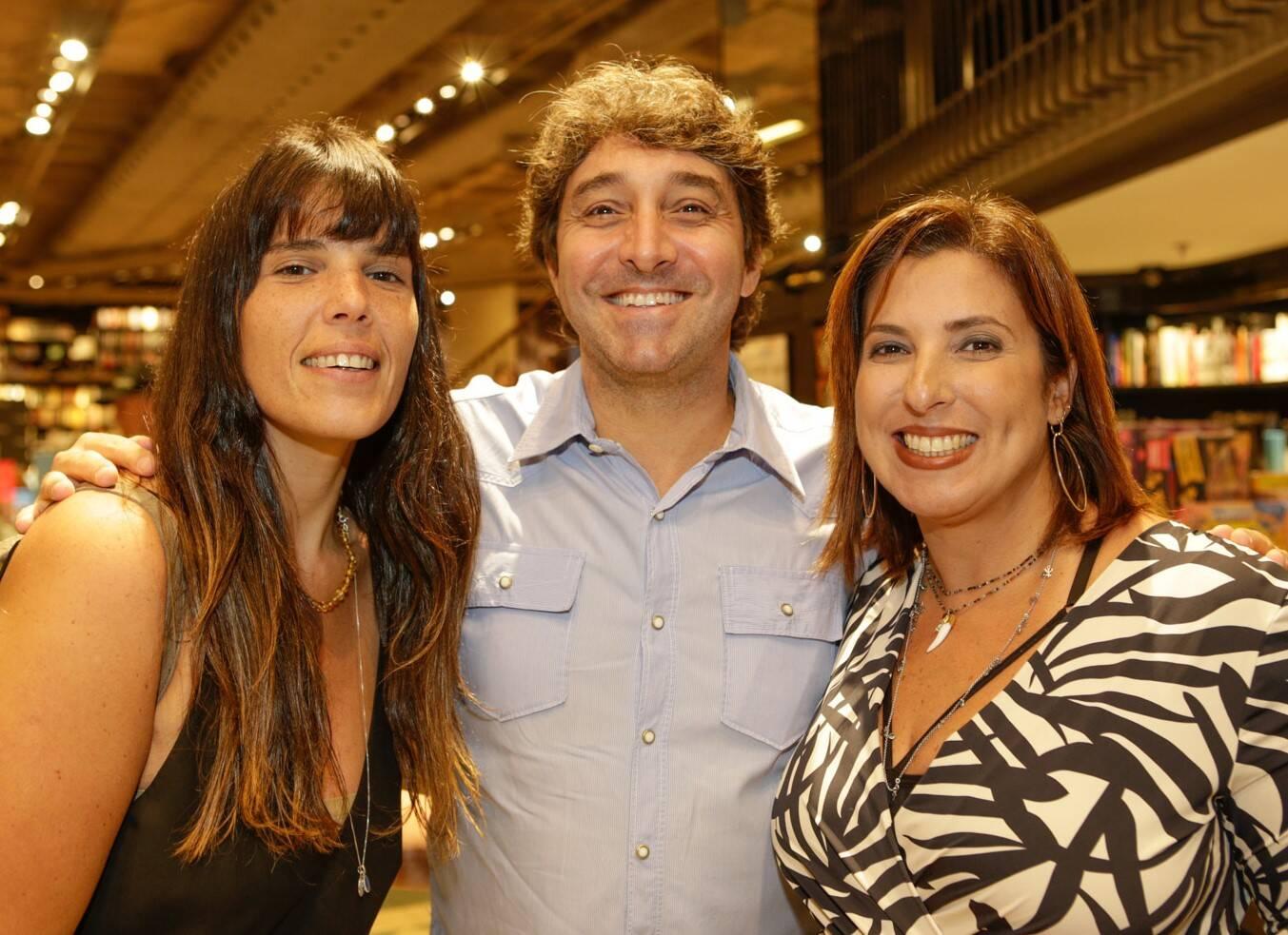 Fernanda Thedim, Luiz Alzer e Maria Vargas  /Foto: Gianne Carvalho