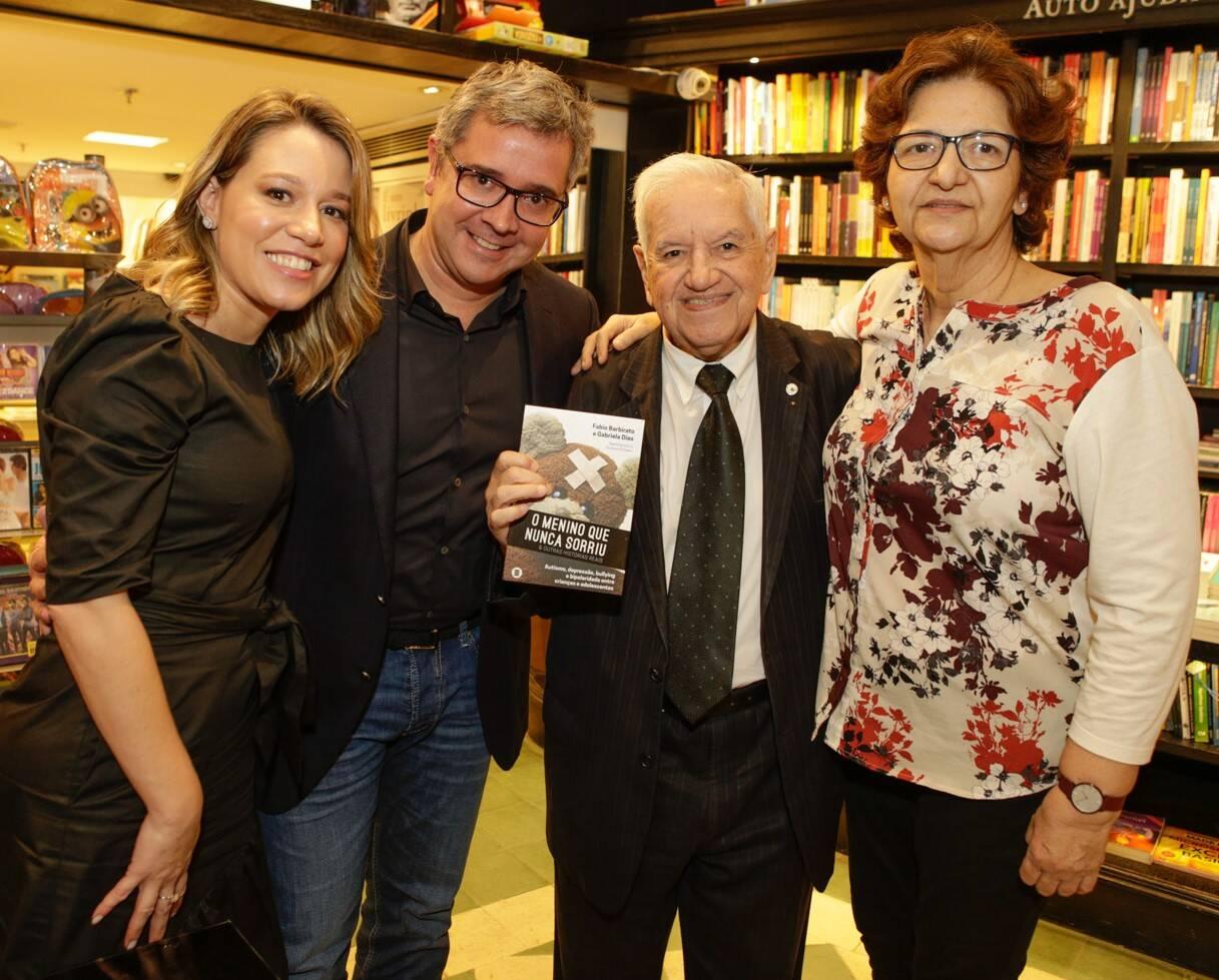 Gabriela Dias,  Fabio Barbirato, Franscisco Horta e Fátima Vasconcelos  /Foto: Gianne Carvalho