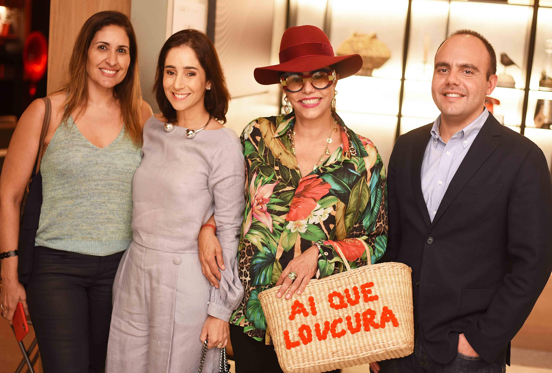 Fabiana Luna, Antonia Leite Barbosa, Narcisa Tamborindeguy e Antonio Paulo  Pitanguy Müller /Foto: Ari Kaye