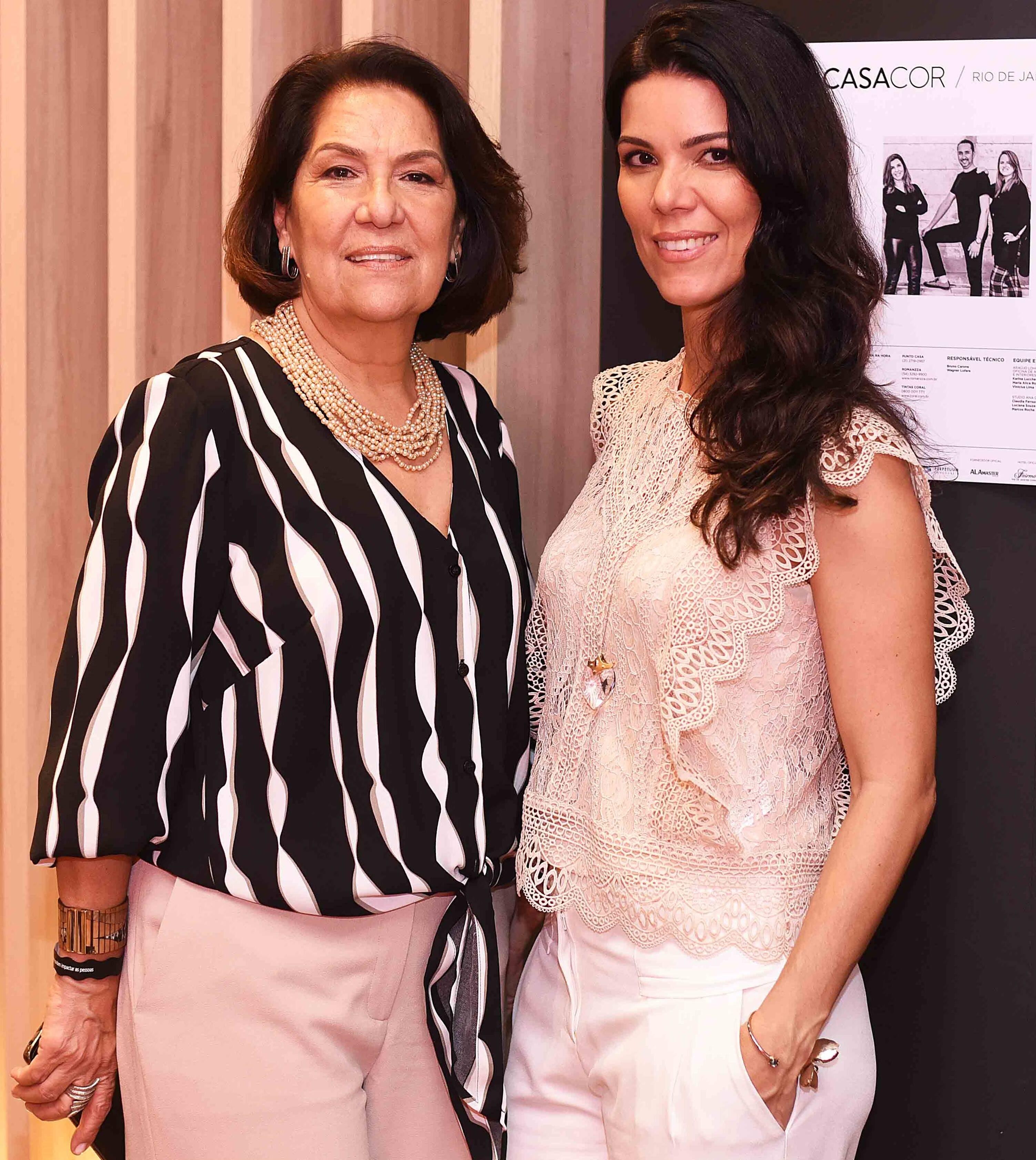 Iole e Fernanda Mendonça /Foto: Ari Kaye