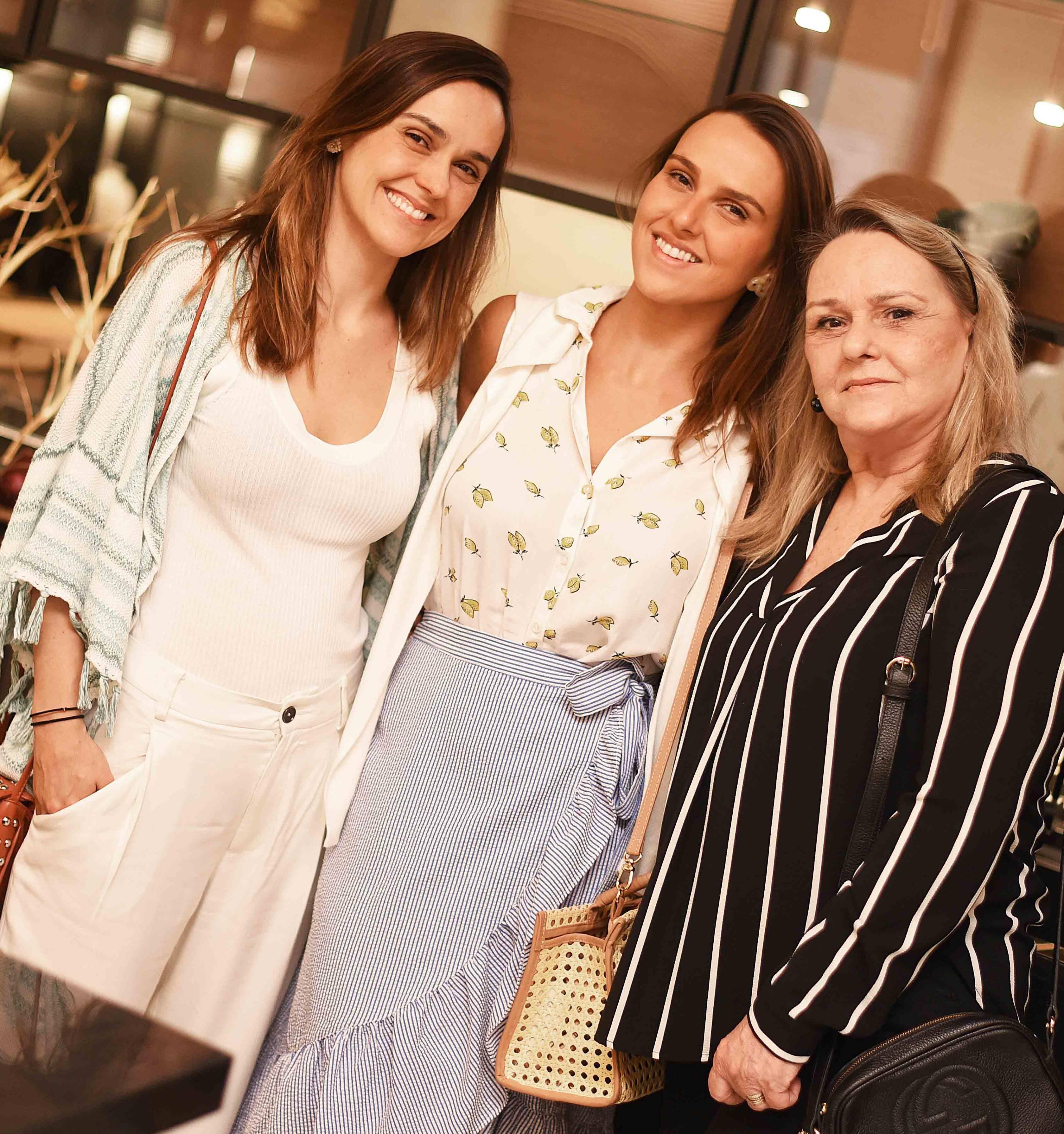 Rafaela, Marcela e Teresa Groth /Foto: Ari Kaye