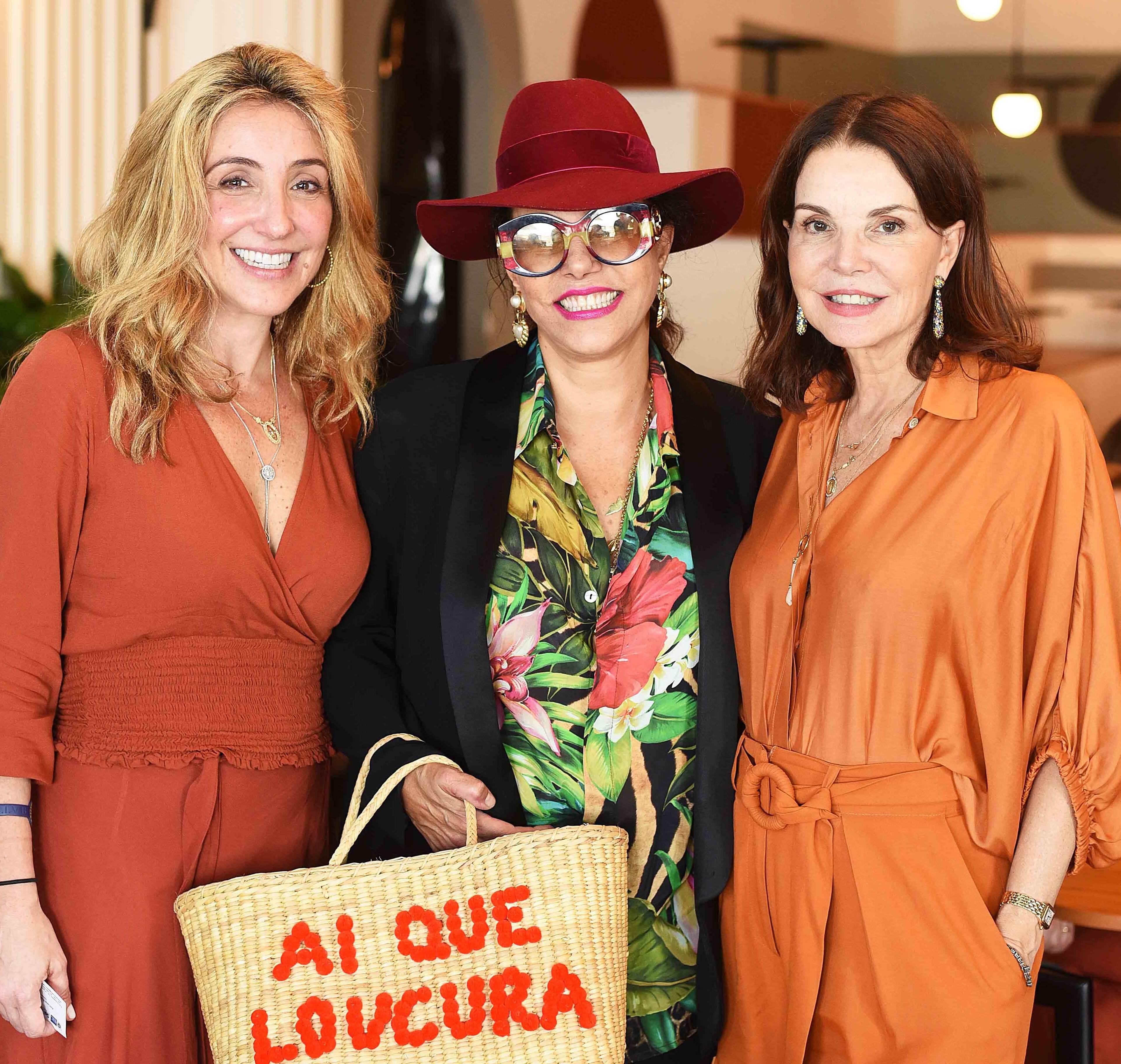 Roberta Pederneiras, Narcisa Tamborindeguy e Patricia Mayer /Foto: Ari Kaye