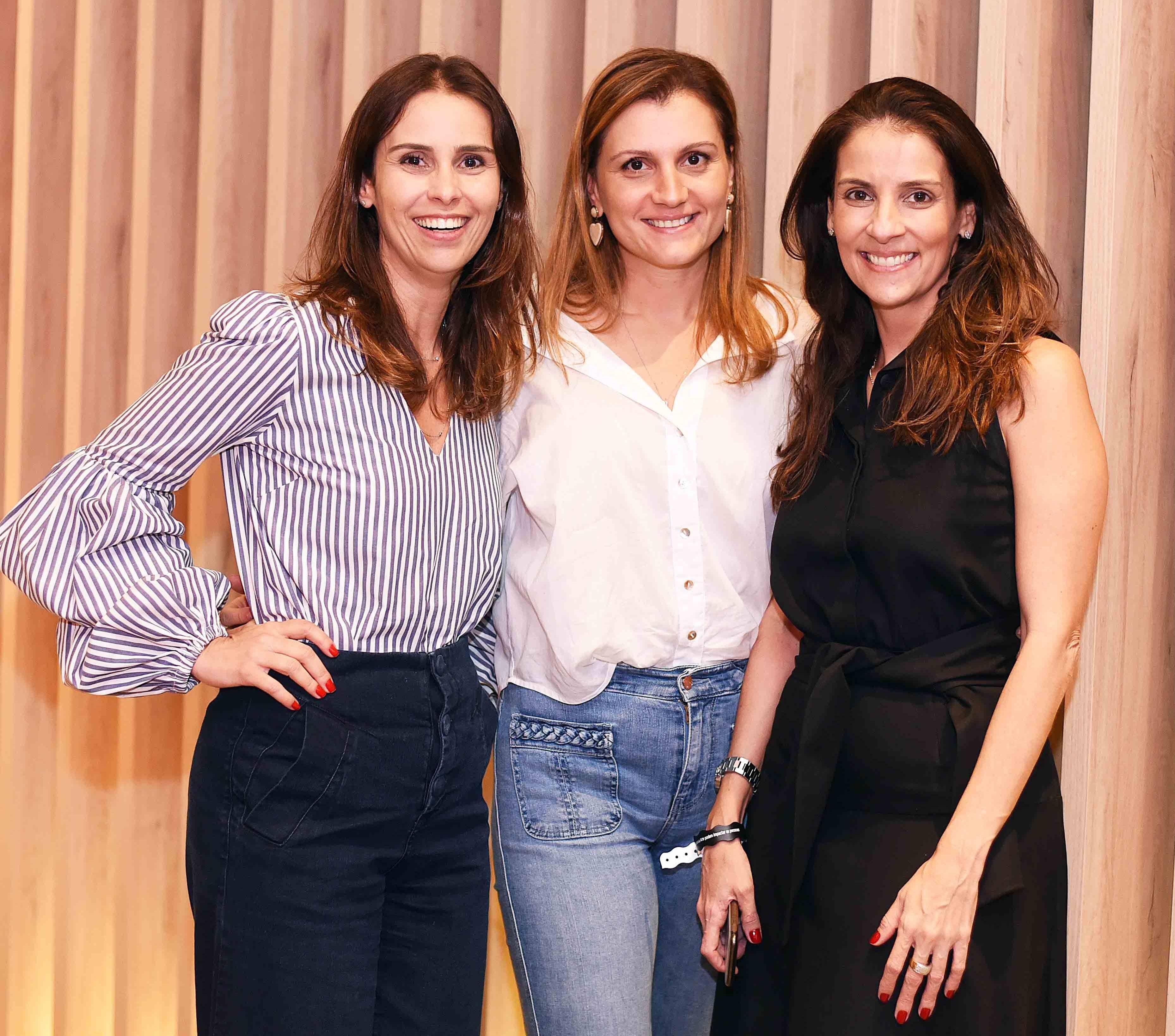 Sabrina Correa, Cristine Paes e Laura Paes /Foto: Ari Kaye