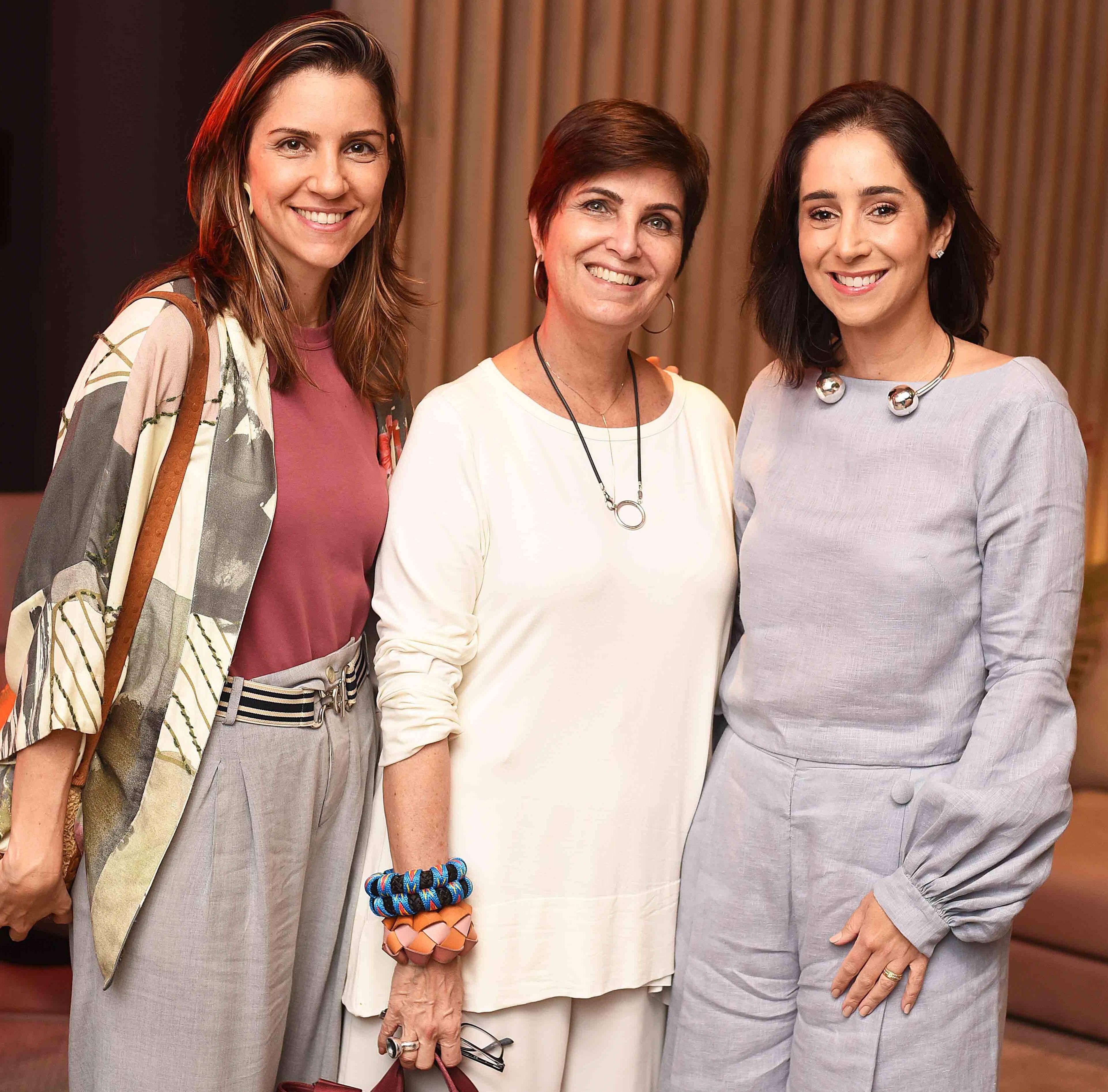 Carolina Calmon, Margarida Vianna e Antonia Leite Barbosa e Antonia Leite Barbosa /Foto: Ari Kaye