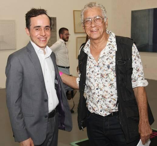Gaudêncio Fidelis e Neville D'Almeida
