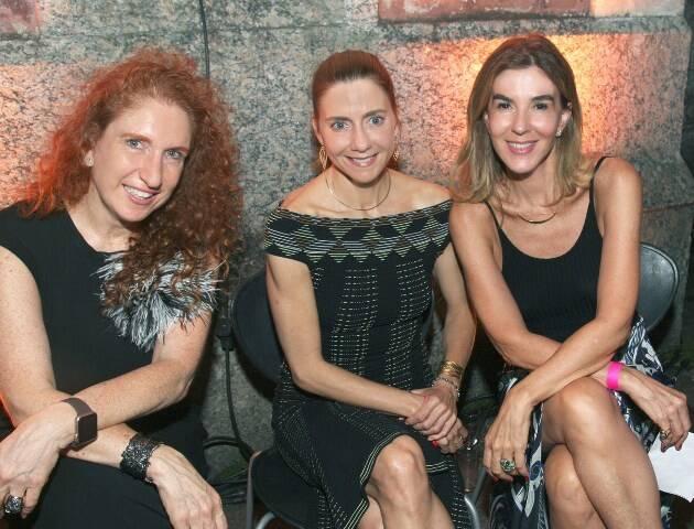 Adriana Lerner, Fernanda Marcolini e Bete Floris