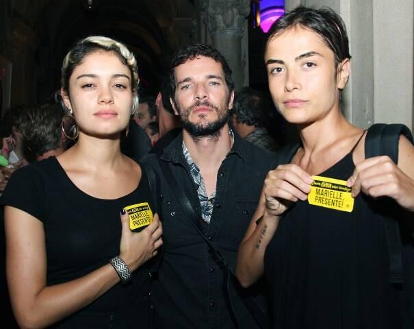 Sophie Charlote, Daniel Oliveira e Maria Casadevall