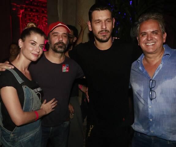 Aline Moraes, Mauro Lima, João Vicente e Orlando Moraes