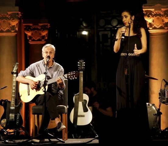 Caetano Veloso e Marisa Monte