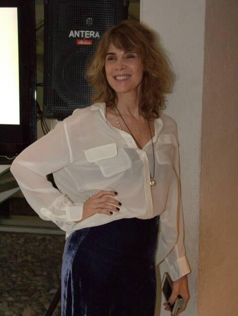 A produtora da peça, Mônica Torres
