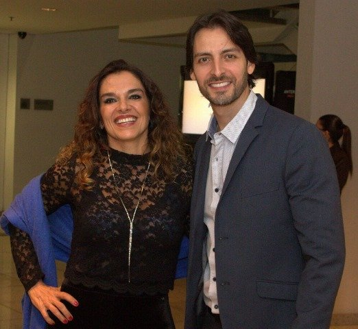Mara Carvalho e Carlos Martin
