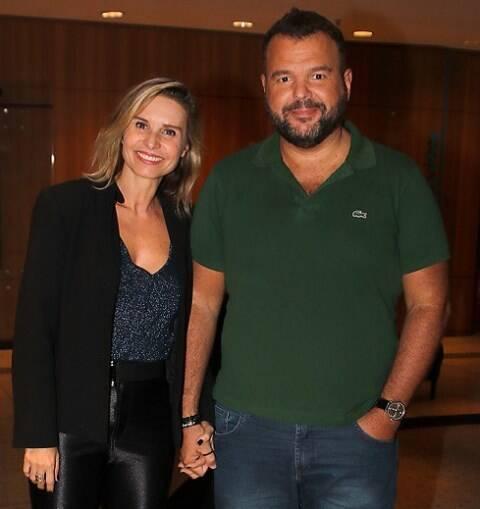 Paula Burlamaqui e Expedito Araújo