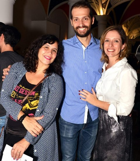 Alice Granato, Leonardo Macedo e Melina Dalboni