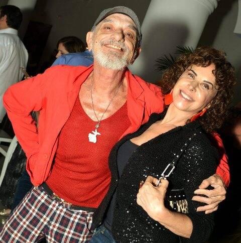 Bayard Tonelli e Claudia Alencar