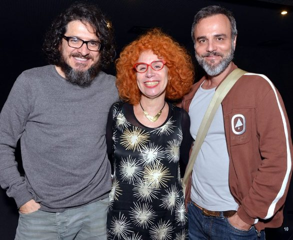 Guilherme Piva, Bia Junqueira e Marcelo Valle
