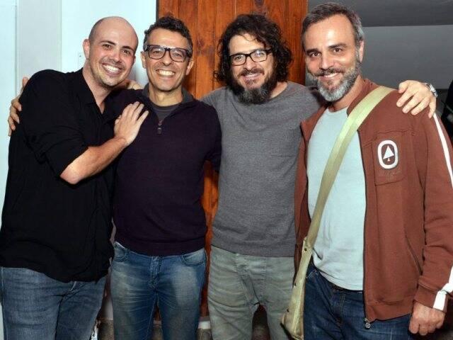 Gustavo Pinheiro, Gustavo Gasparin, Guilherme Piva e Marcelo Valle