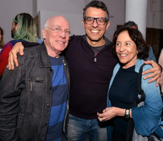 Ary Coslov, Gustavo Gasparian e Myriam Pérsia