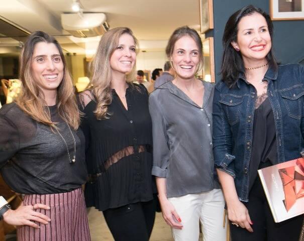Andréa Brito, Aline Araújo, Luiza Bottini e Vivian Coser