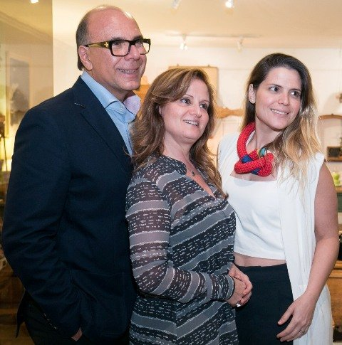 Arnaldo, Katia e Paloma Danemberg