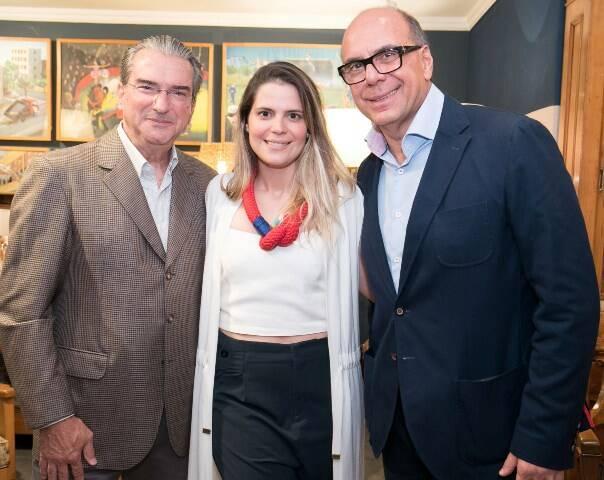 Arthur Peixoto, Paloma e Arnaldo Danemberg