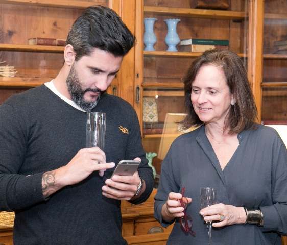 Fabio Bouillet e Patricia Quentel
