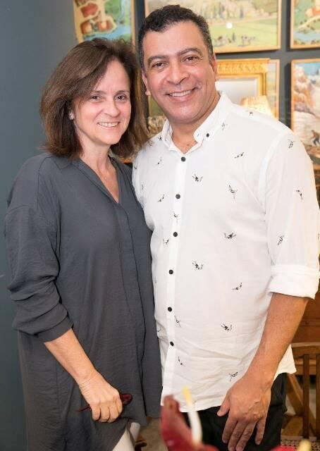 Patricia Quentel e Pedro Ariel