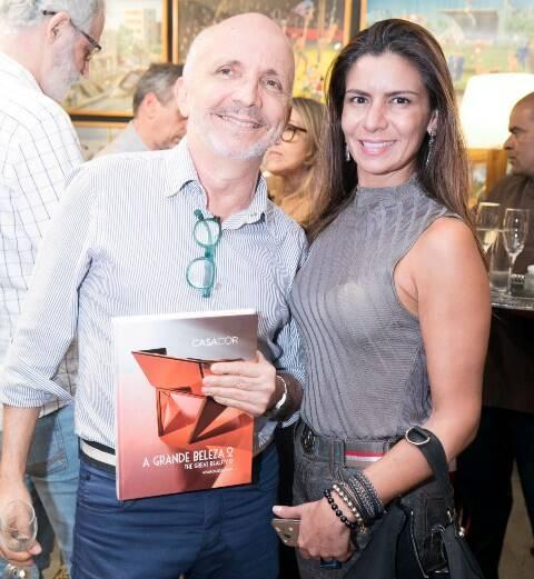 Ronald Goulart e Luzia Freire