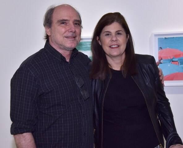 Selmo Marino e Patricia Costa