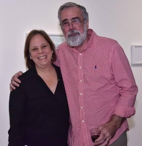 Patricia Caldas e Pedro Tebyriçá
