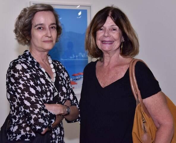 Márcia Machado e Maria Cecília Tebyriçá