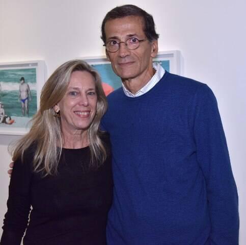 Carla Sigaud e Rogério Sampaio