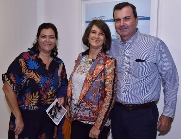 Denise Belém, Cristina Alvarenga e César Ramos Filho