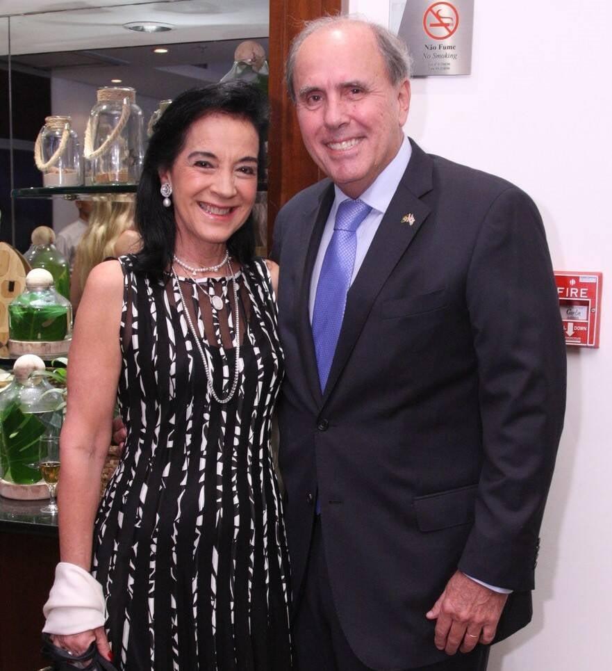 Monica e Sergio Clark /Foto: Vera Donato