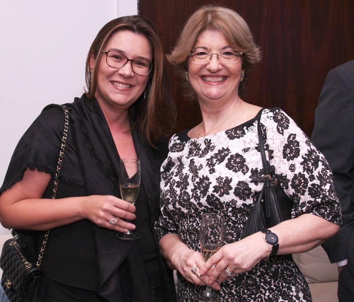 Andréa Azeredo e Anna Ballantyne  /Foto: Vera Donato