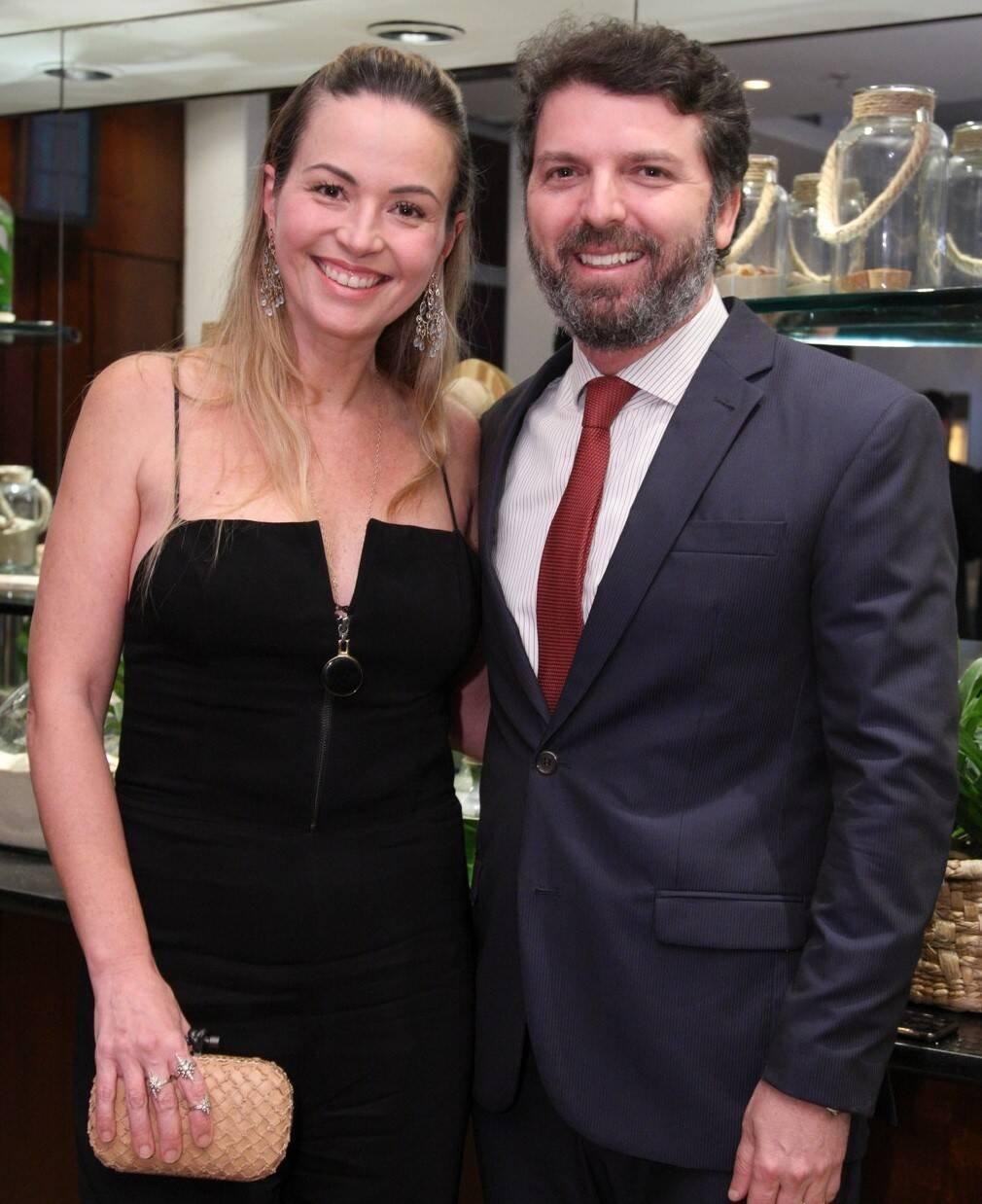 Denise e André Oliveira  /Foto: Vera Donato